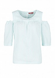 s.Oliver Cold-Shoulder-Bluse