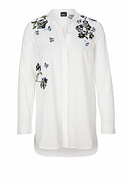 s.Oliver BLACK LABEL Embroidery-Bluse