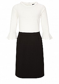 s.Oliver BLACK LABEL Black and White-Kleid