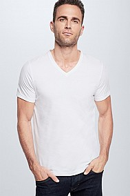 Strellson Cotton Stretch T-Shirt 2er Pack, weiß